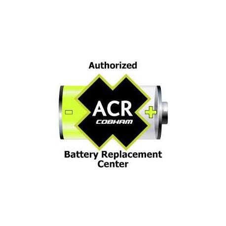 Cambio de batería y disparador hidrostático ACR