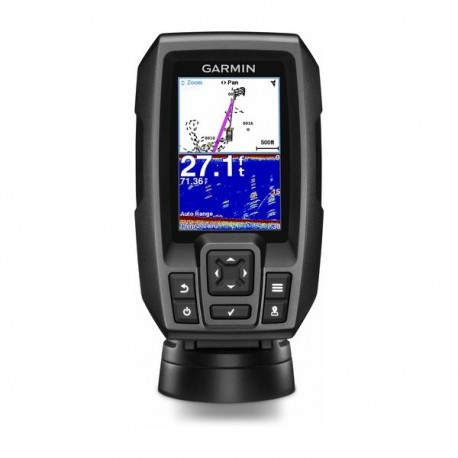 Garmin Striker 4  con transductor de popa doble haz 77/200