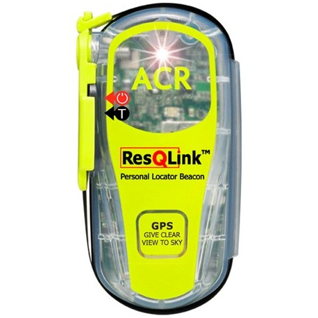 Radiobaliza Personal ACR ResQLink 406Mhz GPS incorporado