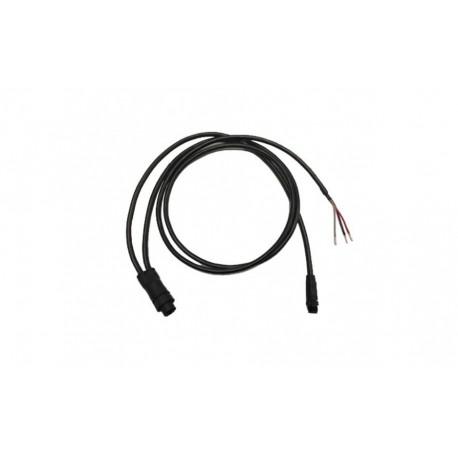 Cable de alimentación para Axiom, con conector NMEA2000. Recto. 1,5 metros