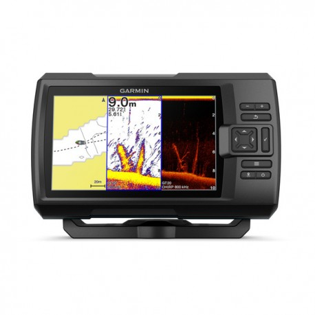 Garmin Striker Plus 7cv con transductor popa GT20-TM